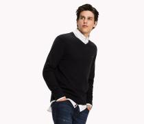 Pullover aus Baumwoll-Kaschmir
