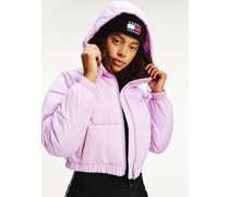 Cropped Fit Puffer-Jacke