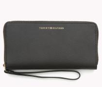 Portemonnaie Aus Saffianoleder Mit Rundum-reißverschluss
