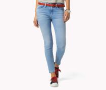 Gekürzte Super Slim Fit Jeans