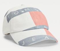 Baseball-Cap aus Bio-Baumwolle mit Logo-Print