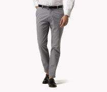 Slim Fit Trousers aus Baumwoll-Mix
