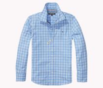 Regular Fit Hemd aus Flammengarn