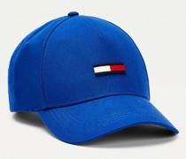 Baseball-Cap aus Bio-Baumwolle mit Flag