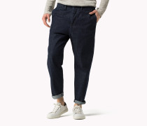 Gekürzte Relaxed Fit Chino