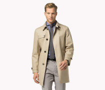 Taillierter Mantel Aus Baumwolle