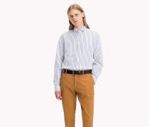 Tailliertes Hemd mit Streifen