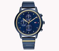 Gigi Hadid-Armbanduhr in Blau