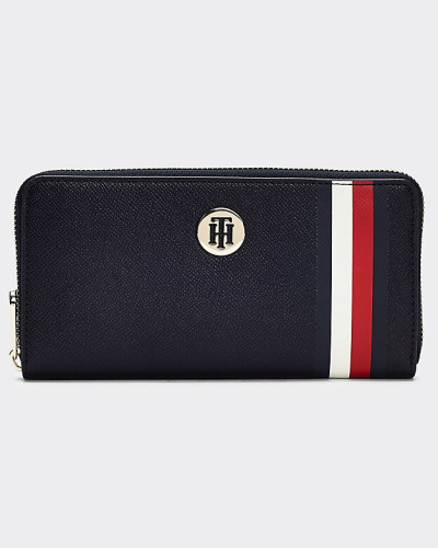 Signature große Reißverschluss-Brieftasche
