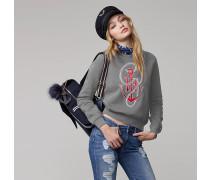 Anker-sweatshirt Aus Baumwolle Von Gigi Hadid