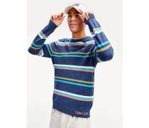 Leichtgewichtiger Pullover mit Streifen