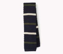 Krawatte im Seidenstrick