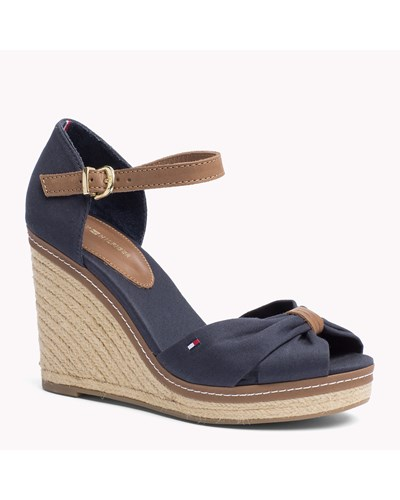 tommy hilfiger damen gemischte sandale mit keilabsatz 49. Black Bedroom Furniture Sets. Home Design Ideas