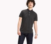 Luxury Slim Fit Poloshirt aus Piqué