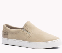 Slip-on Sneakers Aus Wildleder
