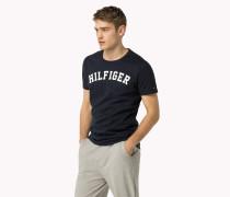 Icon Rundhals-t-shirt Aus Baumwolle