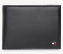 Brieftasche mit aufklappbarem Fach