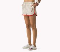Basketball-shorts Aus Satin