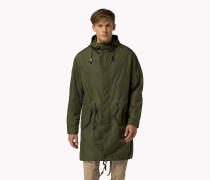 Lightweight Nylon Parka
