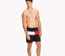 Flag Design Swim Shorts
