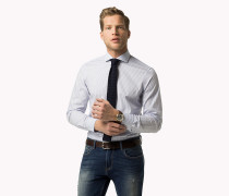 Gestreiftes Slim Fit Hemd