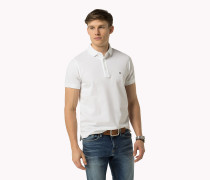 Luxury Slim Fit Poloshirt aus Piqué