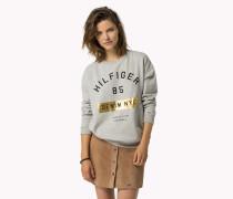 Sweatshirt Aus Baumwoll-mix