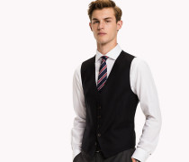 Slim Fit Woll-Weste