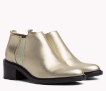 Chelsea-Boot in Metallic-Optik