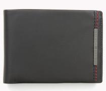 Leder-portemonnaie Mit Münztasche