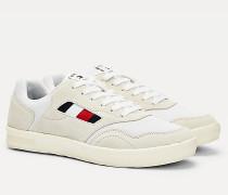 Leichtgewichtiger Cupsole-Sneaker aus Wildleder-Mix