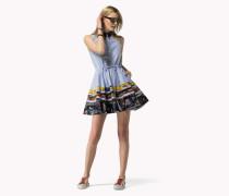 Hemdkleid Im Patchwork-design
