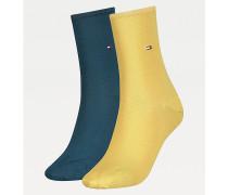 2er-Pack Socken aus Stretch-Baumwollmix