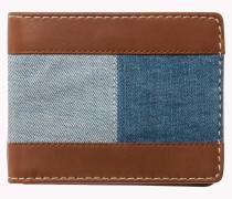 Mini-Portemonnaie mit Denim