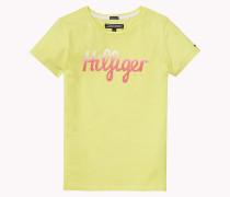 Hilfiger Rundhals-t-shirt Aus Bio-baumwolle