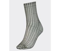 Zendaya Socken mit Hahnentritt-Muster