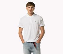 Piqué-Poloshirt aus Tencel