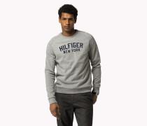 Rundhals-sweater Aus Baumwoll-mix