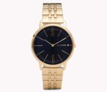 Cooper Armbanduhr in Gelbgold