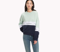 Gekürztes Fleece-Sweatshirt
