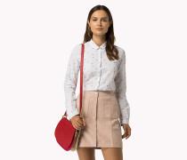 Slim Fit Baumwollhemd mit Print