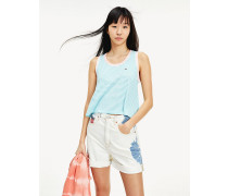 Gestreiftes Relaxed Fit Tanktop