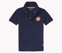 Poloshirt Mit Badge