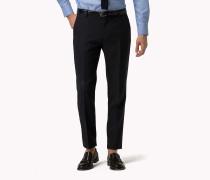 Slim Fit Hose aus Schurwolle