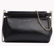 Clutch/crossover-bag Aus Leder