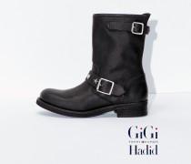 Gigi Hadid Lederstiefel