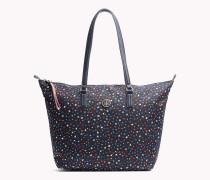 Tote-Bag mit Sternen-Print