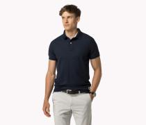 Slim Fit Poloshirt Aus Baumwolle
