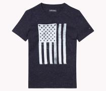 Rundhals-t-shirt Aus Baumwolle Mit Noppenstruktur