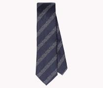 Krawatte aus Seiden-Baumwoll-Mix